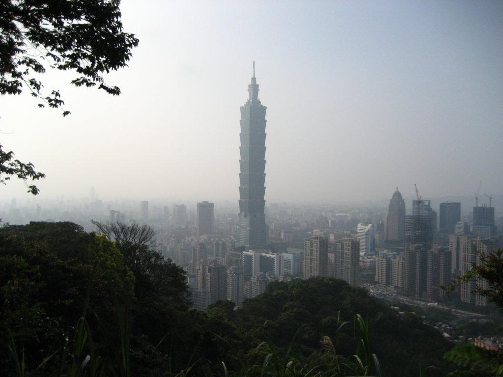Taipei 101 from the Elephant Mountain