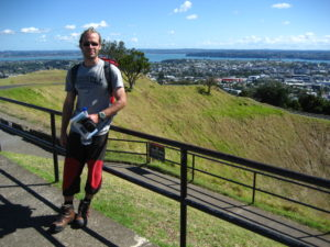 On Mt Eden in Auckland, NZ